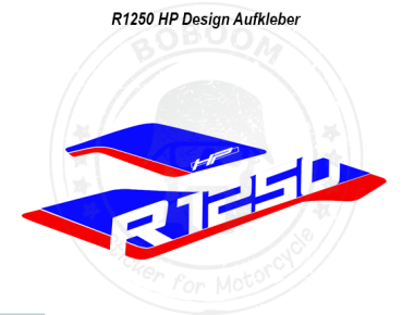 The R1250 HP design sticker