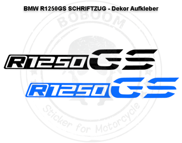 The R1250GS decor sticker